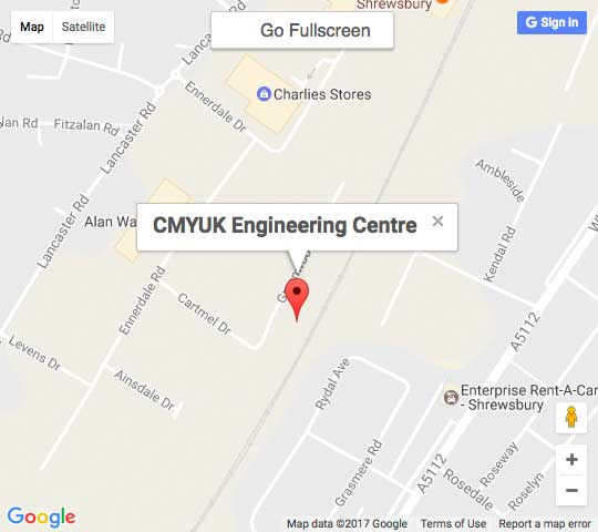 Google Map of CMYUK Engineering Centre, Shrewsbury