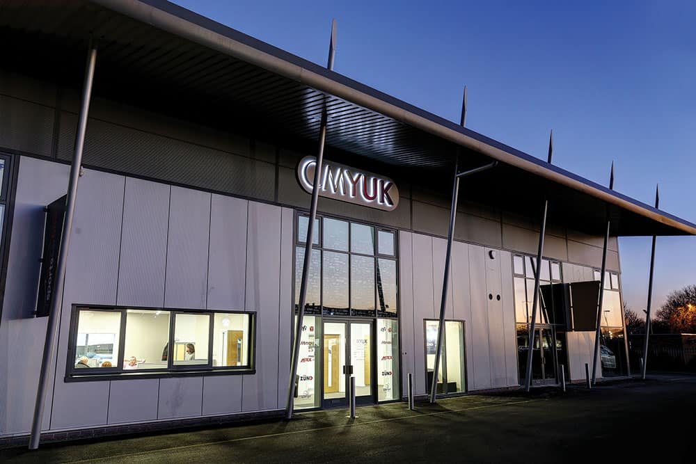 CMYUK Showroom Outside