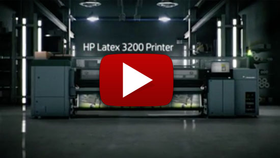 HP Latex 3600 - Robust superwide HP Latex printing