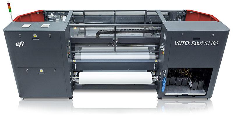 EFI VUTEk FabriVU 180/340 digital fabric printers