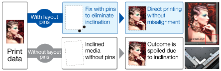 Layout Pins for Trouble-Free Media Alignment