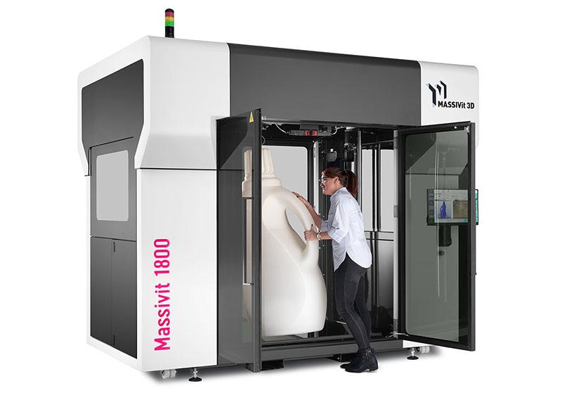 Massivit 1800 3D Printing - 180cm height