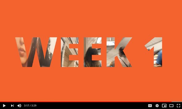 Creatives in Residence LIVE - Week 1