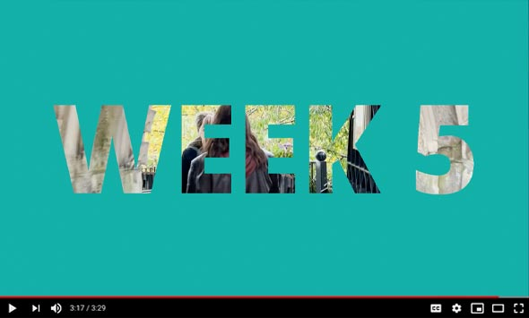 Creatives in Residence Live - Week 5