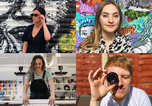 Design and media graduates begin their six-month mentoring & learning journey at CMYUK