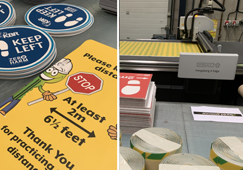 Poppy Signs installs an ESKO X24 digital cutting table from CMYUK