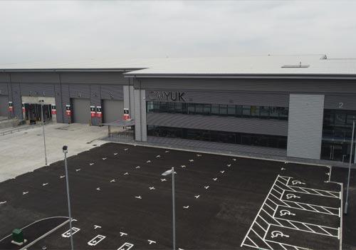 CMYUK New Midlands national distribution hub
