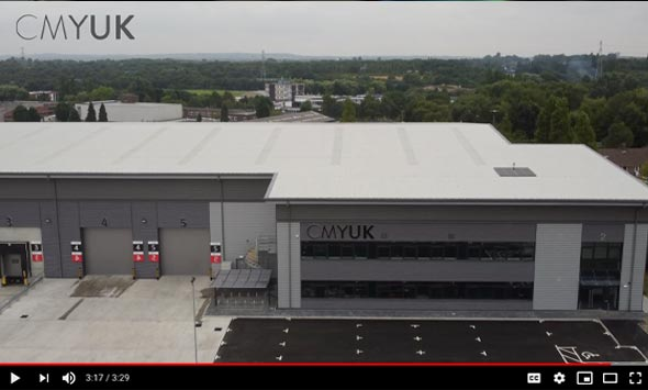 CMYUK opens new Midlands national distribution logistics hub