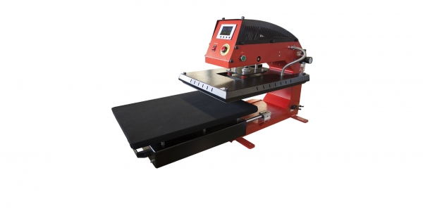 Adkins Heat Press Direct by Adkins Single Table Pneumatic Sublimation T-Shirt Heat Pres