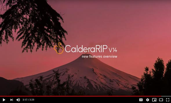 CalderaRIP Version 14 – Overview of the new features