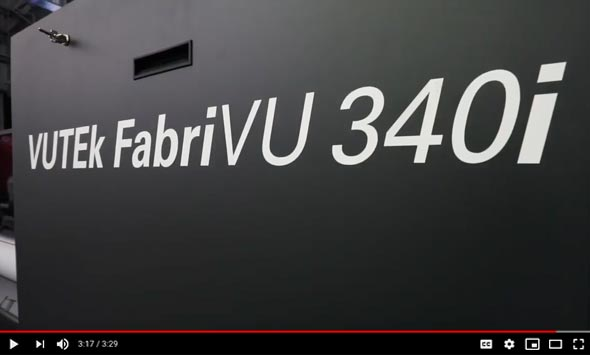 The Amazing EFI VUTEk FabriVU 340i